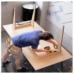 Сборка столов по низким ценам в Ставрополе от специалистов