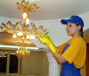 Мытье люстр в Ставрополе