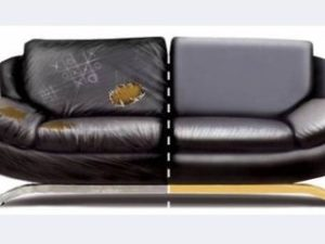 Перетяжка кожаного дивана в Ставрополе