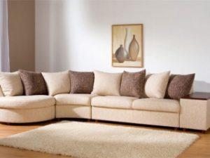 Перетяжка углового дивана на дому в Ставрополе